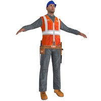 Worker A4 LOD2