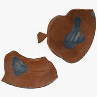 3d model broken pottery