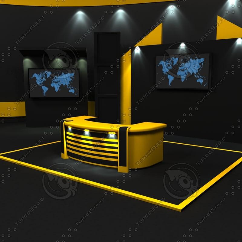 3d 3ds virtual set