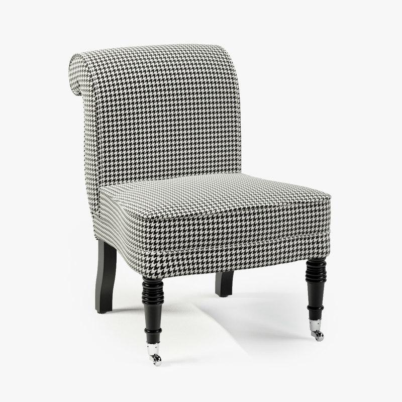 3d eichholtz chair berceau