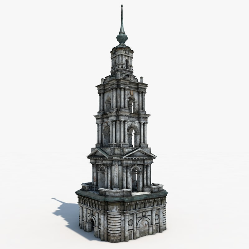 3d belfry st nicholas cathedral