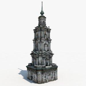 3d belfry st nicholas cathedral