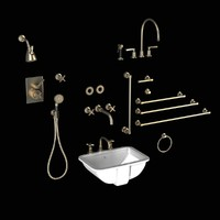 Lefroy Brooks Bath Furniture set