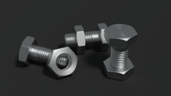 3d model screw blender