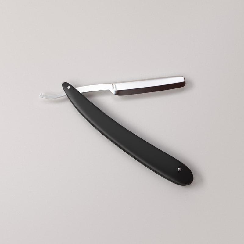 straight razor 3d 3ds