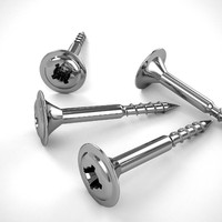 3d model screw