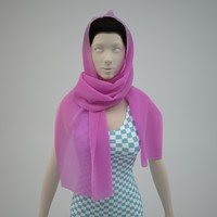 Scarf - High Res (For Woman)