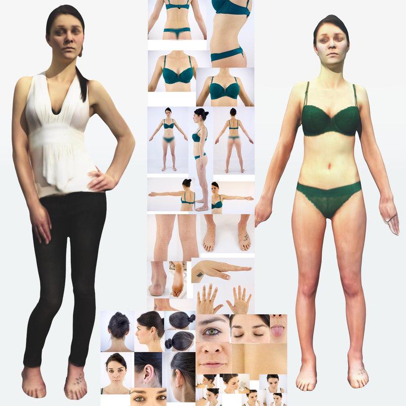 body scans photo 3d model