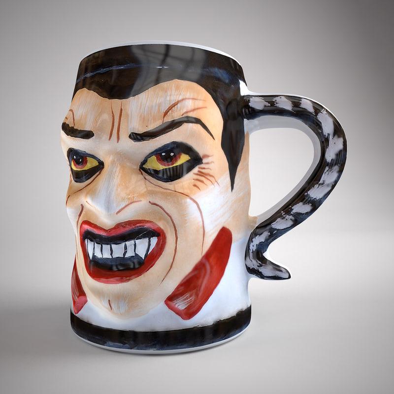 3d cup dracula