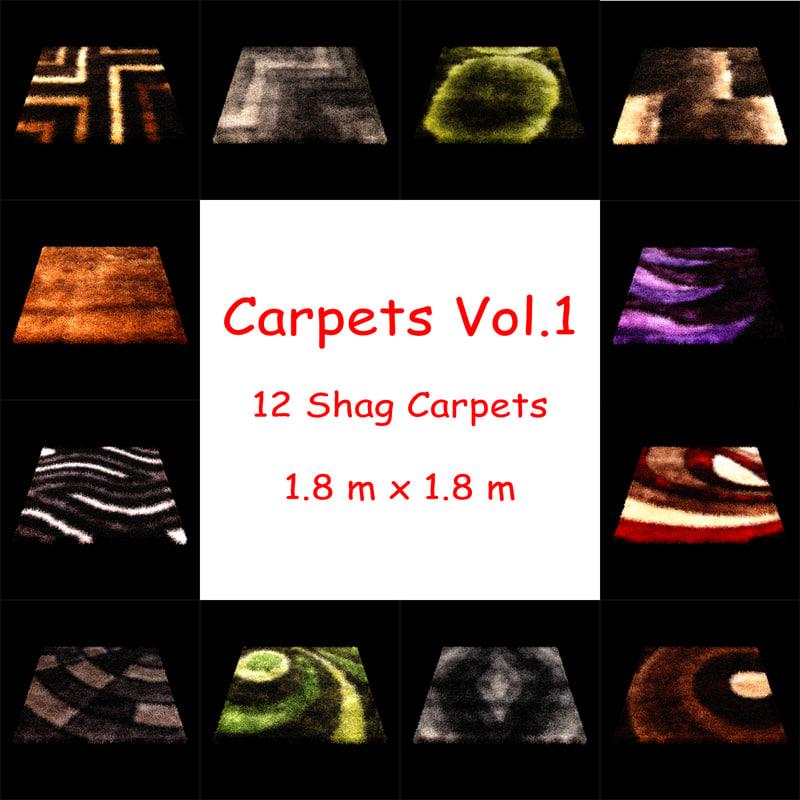 3d carpets vol 1 model