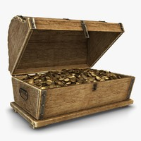 obj treasure chest gold 3