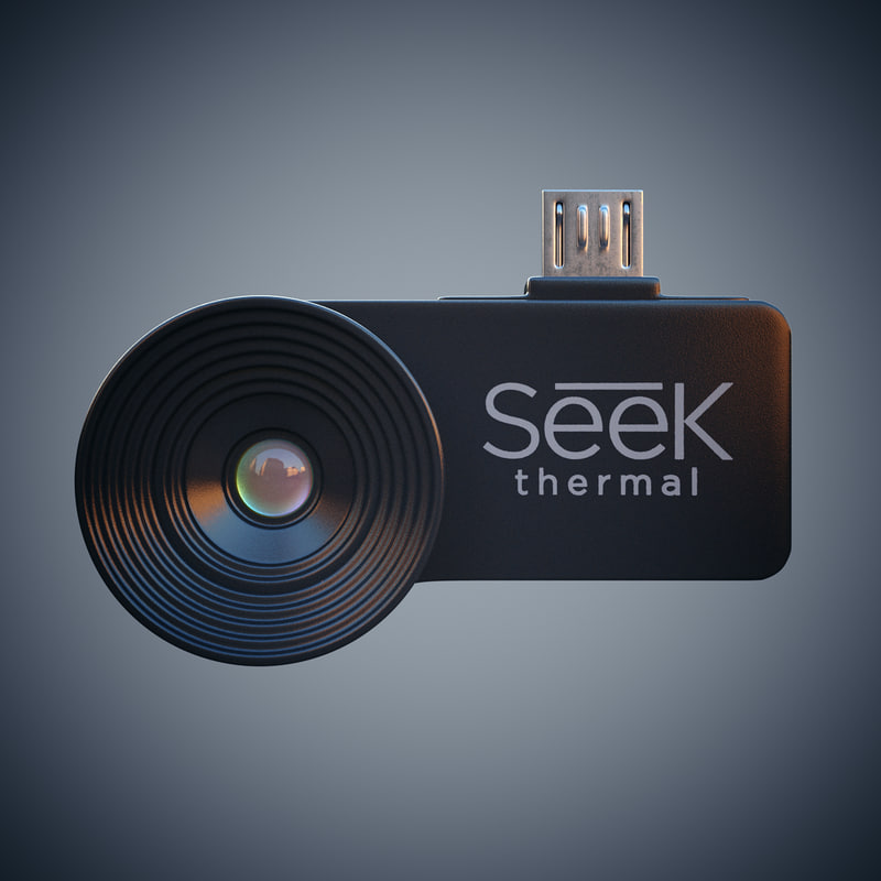 seek thermal camera 3d max