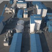 3d sugar factory