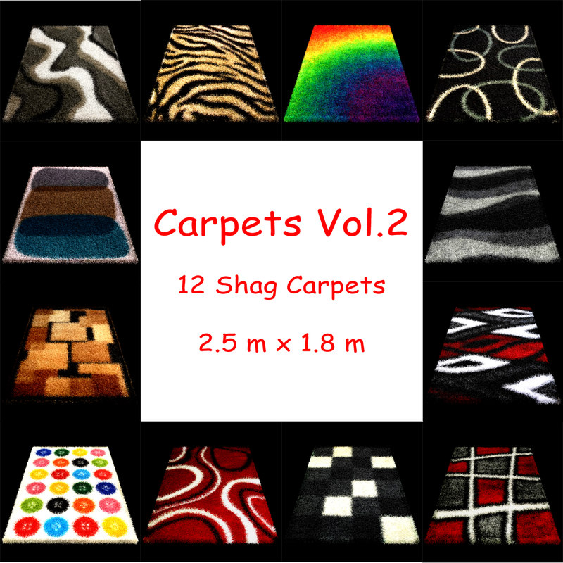 carpets vol 2 3d max