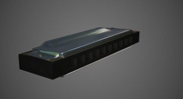 3d harmonica