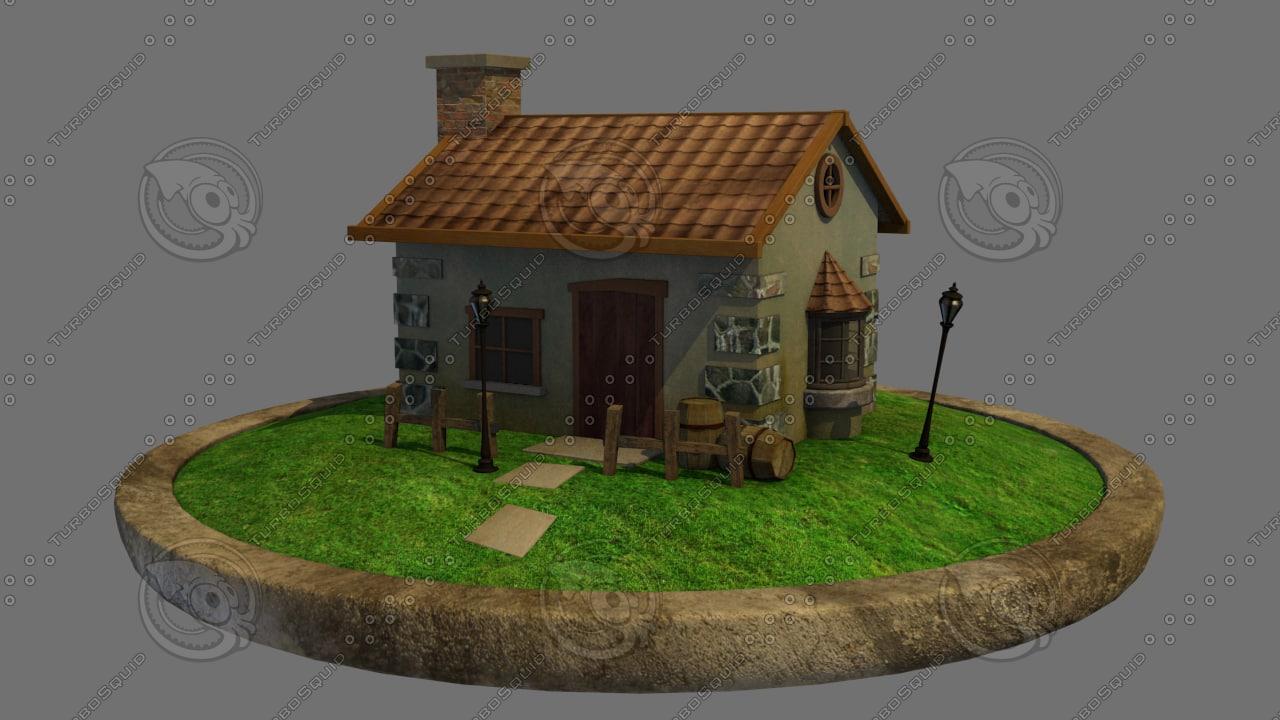 3d home environment model