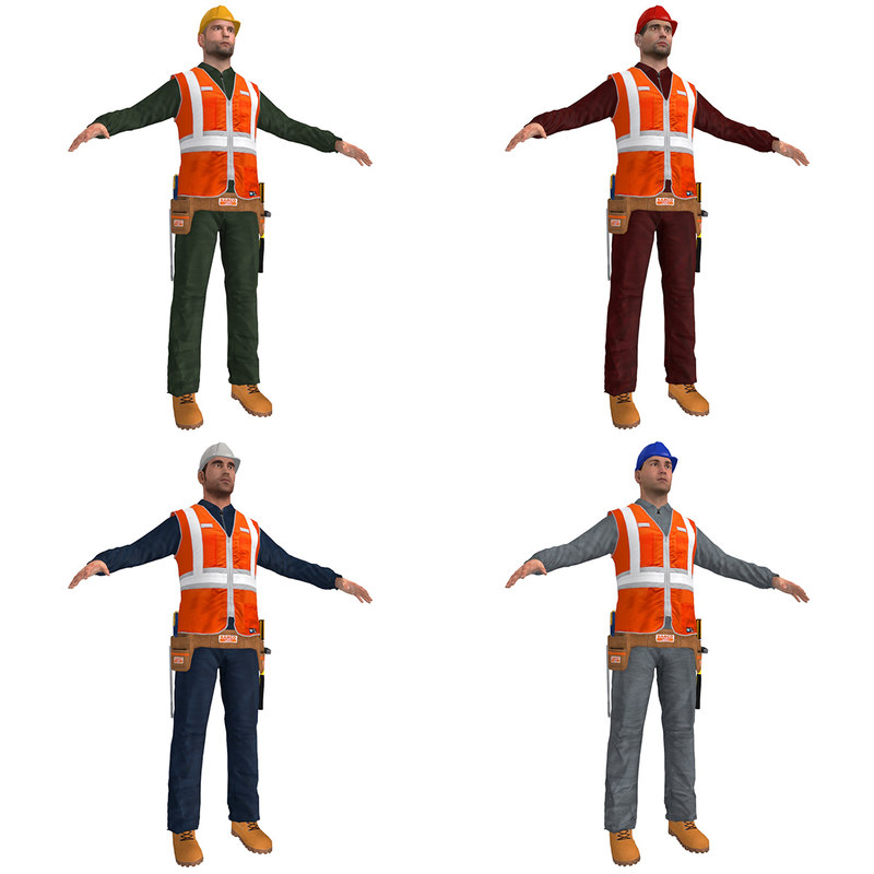 max pack worker man