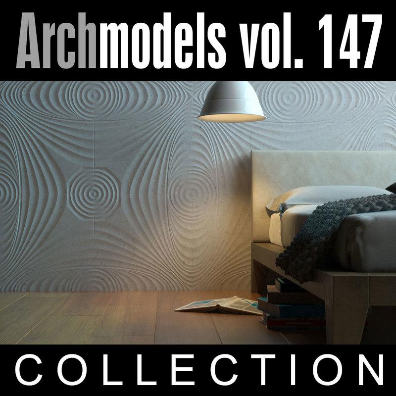 3ds max archmodels vol 147 walls