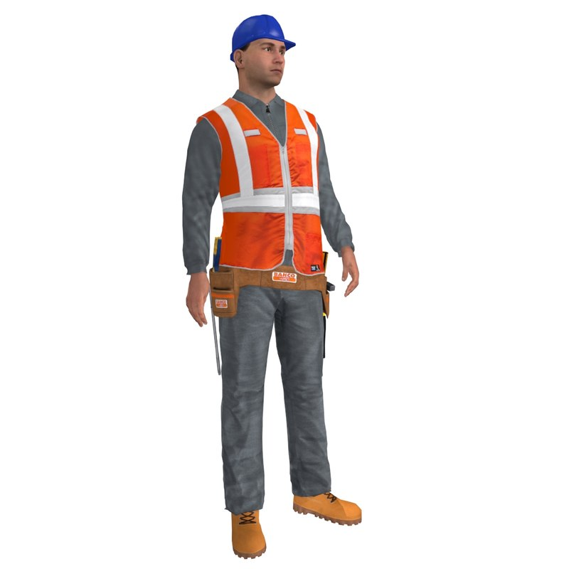 worker rigged max