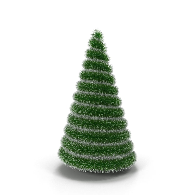 decorative christmas tree 3d max