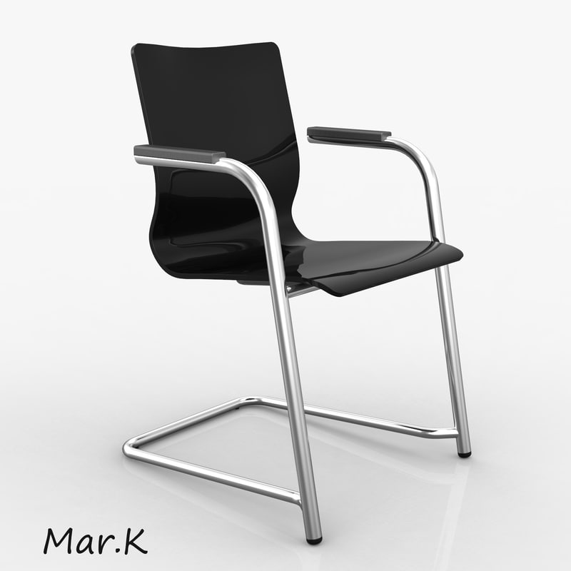3d office chair luk model
