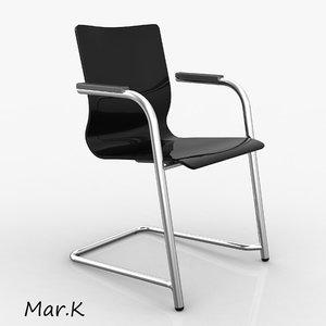 3d office chair luk model