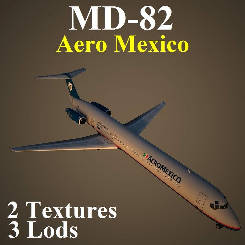 3d mcdonnell douglas amx model