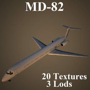 3d mcdonnell douglas model