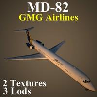 3d model mcdonnell douglas gmg