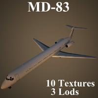 3d model mcdonnell douglas