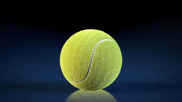 3d model rig tennis