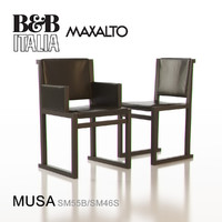 3d b italia maxalto musa model