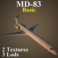 mcdonnell douglas basic 3d model