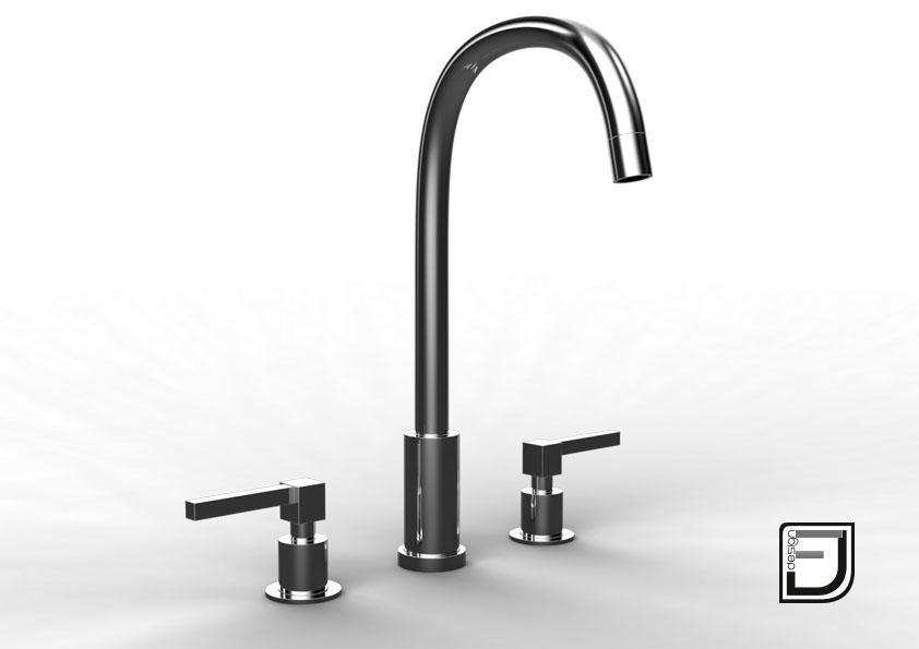 faucet kitchen 3d 3ds