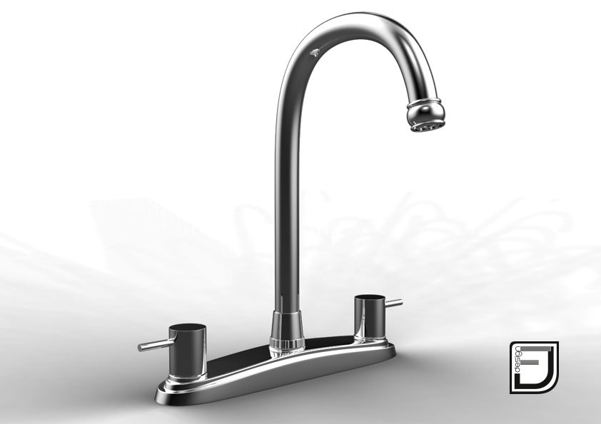 3d kitchen faucet 15 model
