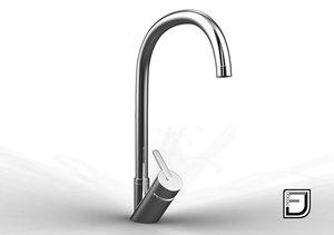 kitchen faucet 16 3d model