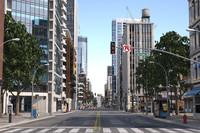 3dsmax modular city buildings