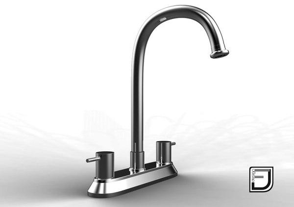kitchen faucet 19 obj