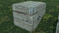 bunker ww2 3d model