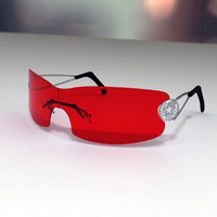 Emporio Armani 9592 (Red) Sunglasses