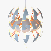 3d model ikea ps 2014 pendant lamp
