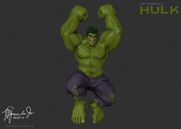 Incredible Hulk (Mark Ruffalo) in the Avengers