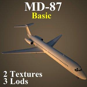 mcdonnell douglas basic 3d max
