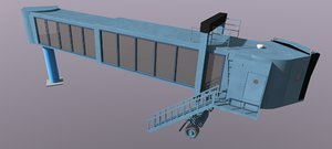 3ds max airport terminal jetway