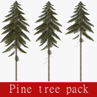 3ds pack pine tree
