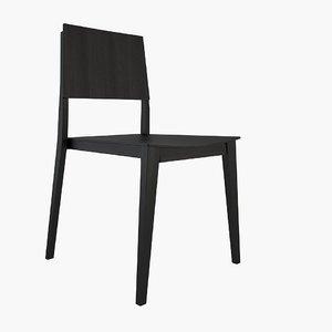 3d domo a9605 chair model