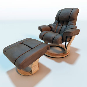 3d relax armchair fortuna leather