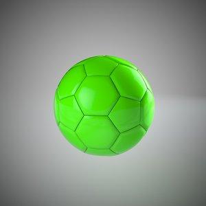 3d soccer ball mograph