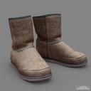 Sheepskin boots 3D models