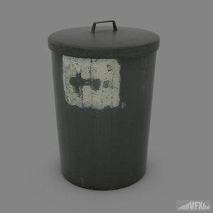 dustbin bin obj free